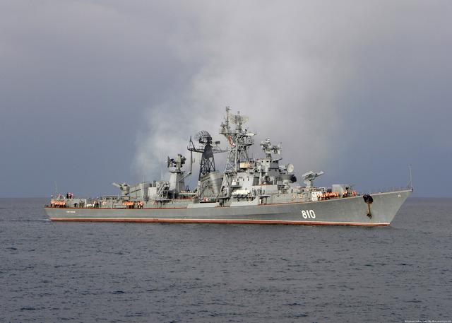 Большой противолодочный корабль Сметливый