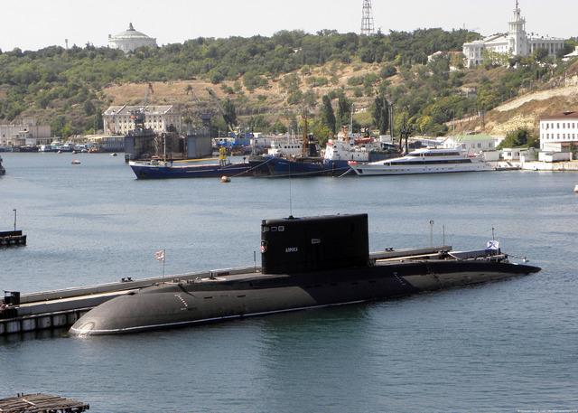 Подводная лодка тип АЛРОСА